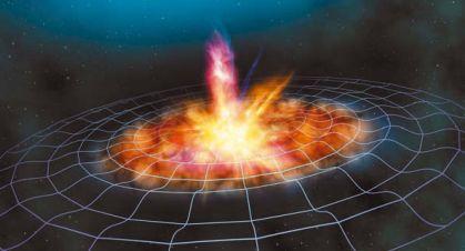 Гравитационные волны, возникшие при Большом взрыве