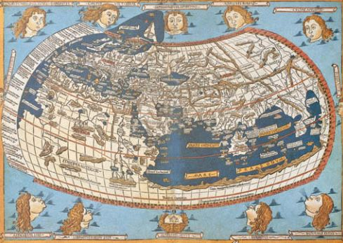 >Карта XV в.