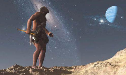 Наблюдения неандертальцев за звездами
