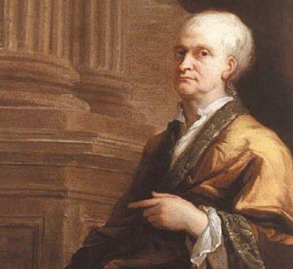 Портрет Исаака Ньютона. Джеймс Торнхилл. 1712 г.