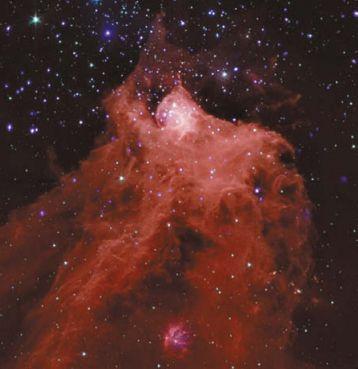 Огромное облако в созвездии Цефея