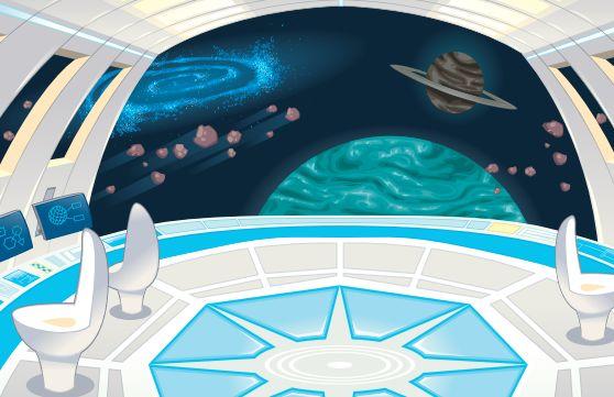 корабль космический