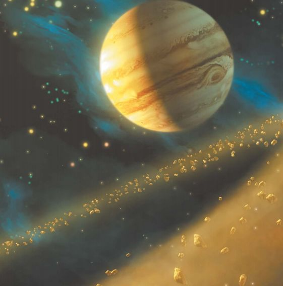 Между Марсом и Юпитером