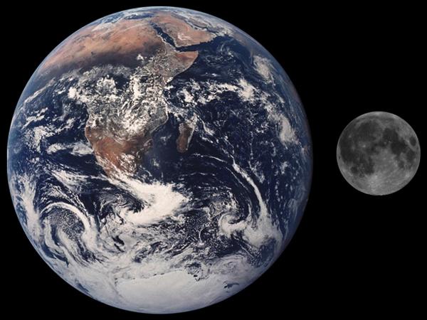 Луна упадет на Землю ровно через 65 миллиардов лет